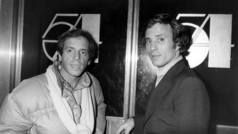 Steve Rubell e Ian Schrager. Fuente: History Daily
